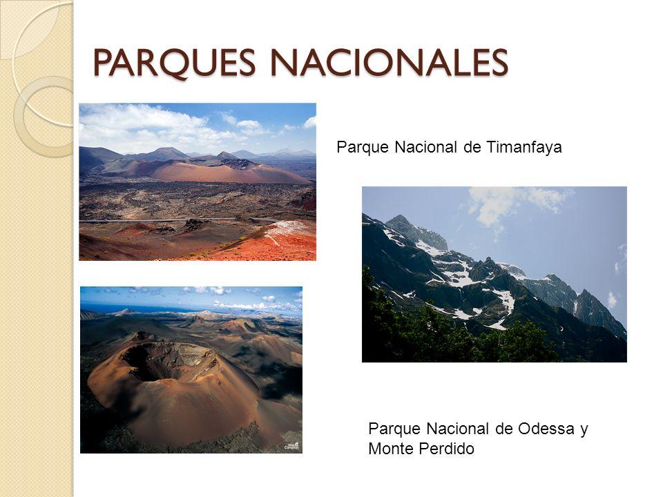 PARQUES NACIONALES Parque Nacional de Timanfaya