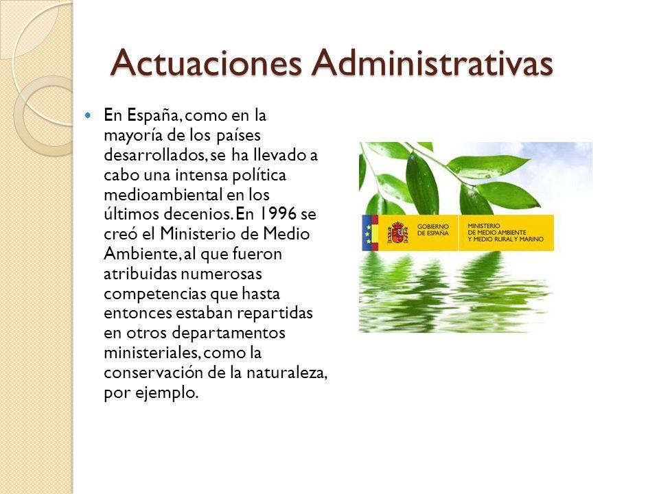 Actuaciones Administrativas