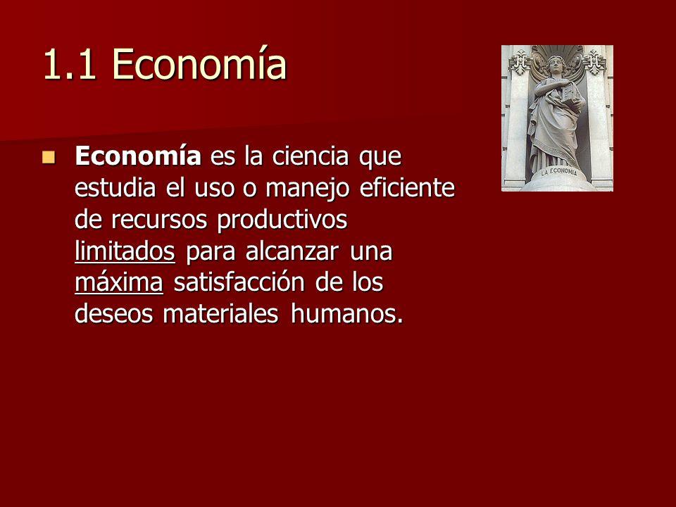 1.1 Economía