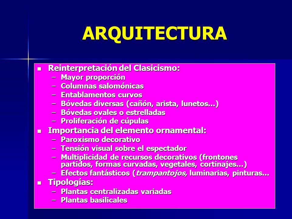 ARQUITECTURA Reinterpretación del Clasicismo:
