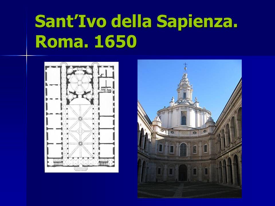 Sant'Ivo della Sapienza. Roma. 1650