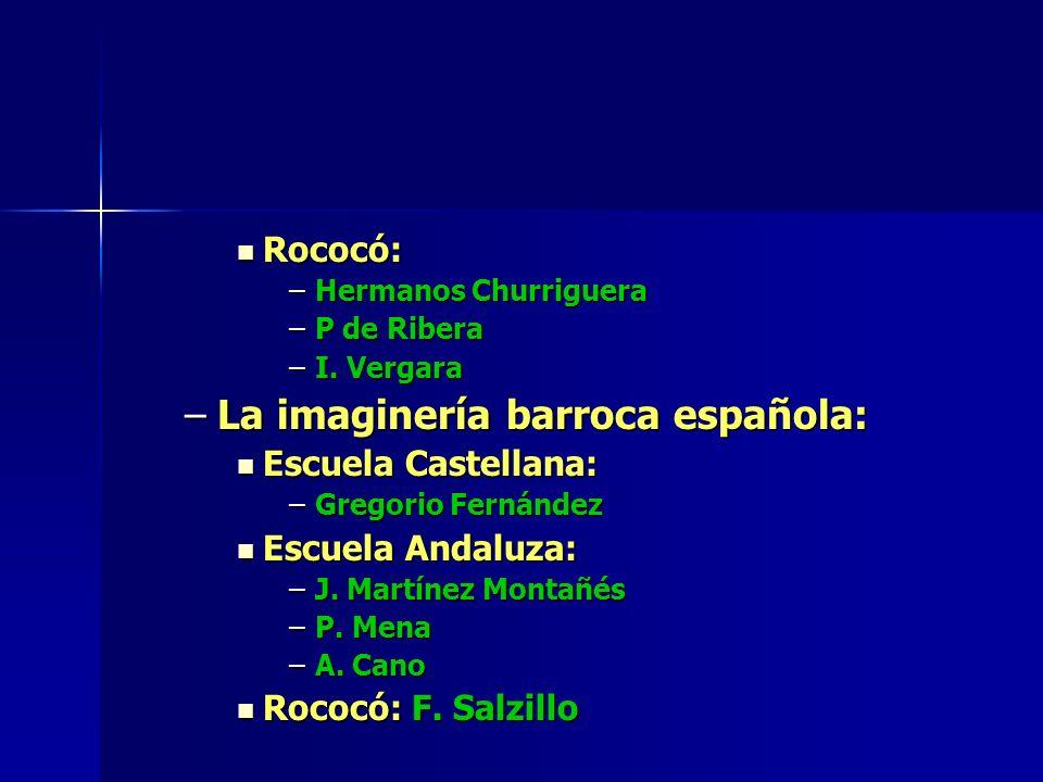 La imaginería barroca española: