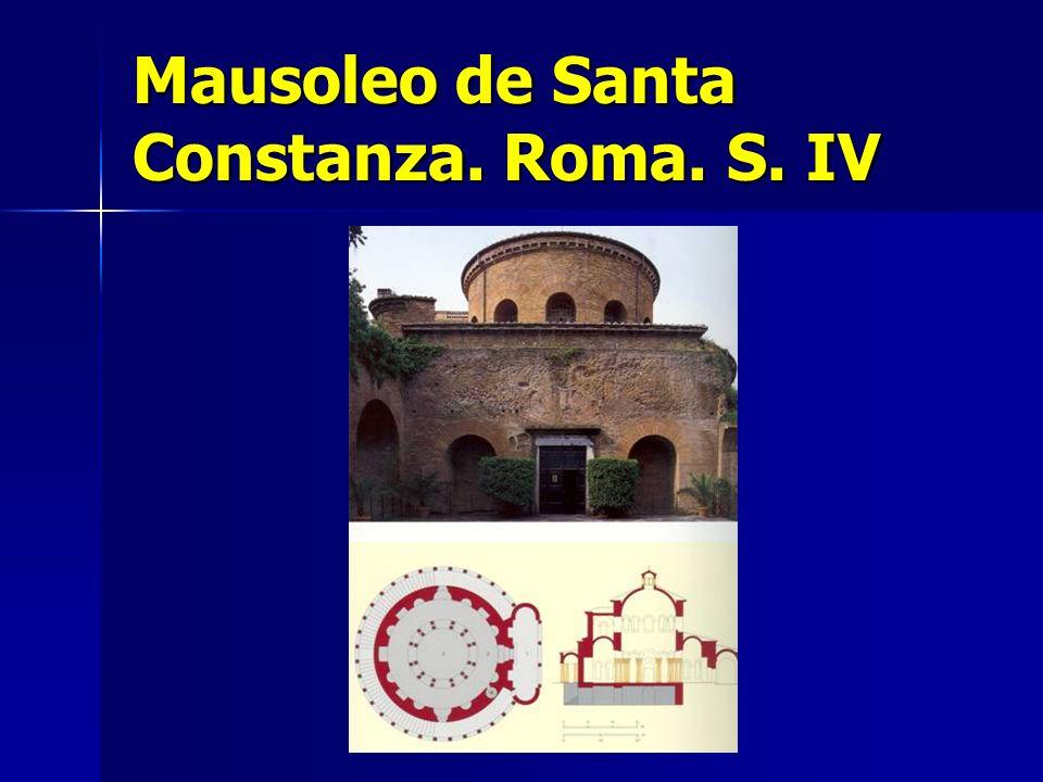 Mausoleo de Santa Constanza. Roma. S. IV