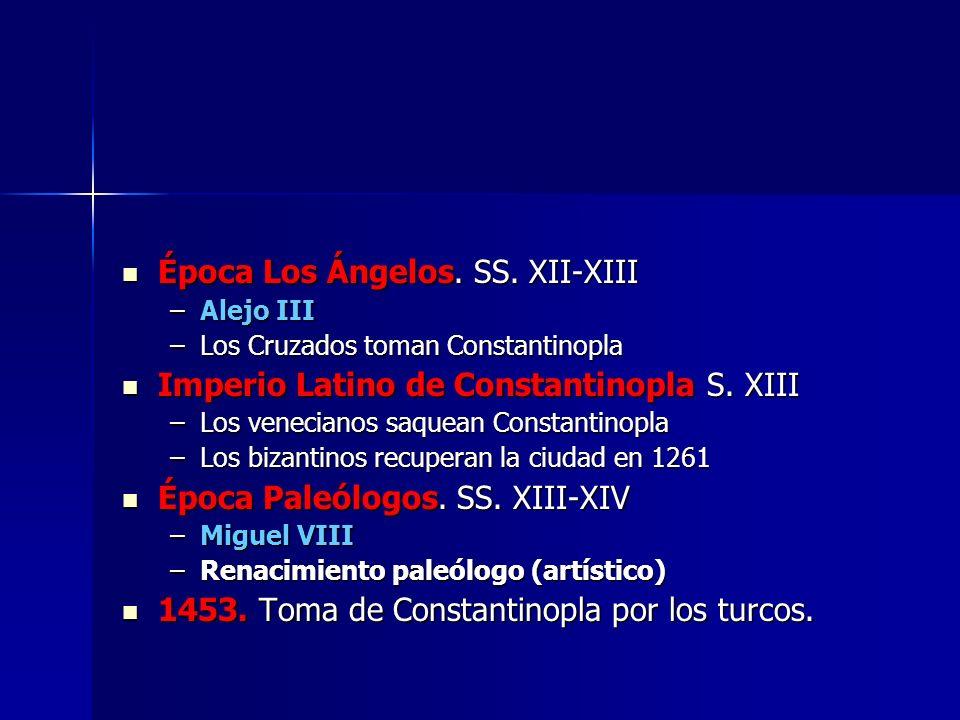 Época Los Ángelos. SS. XII-XIII