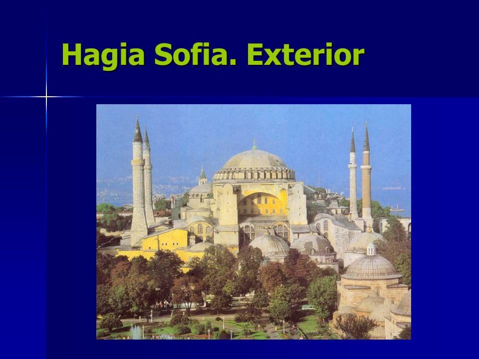 Hagia Sofia. Exterior