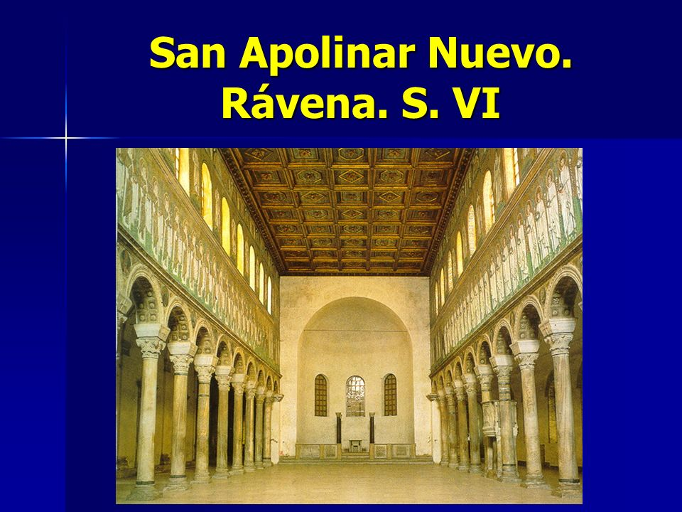San Apolinar Nuevo. Rávena. S. VI