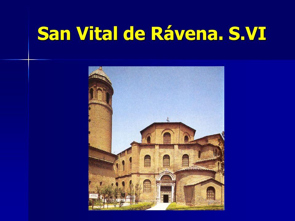 San Vital de Rávena. S.VI
