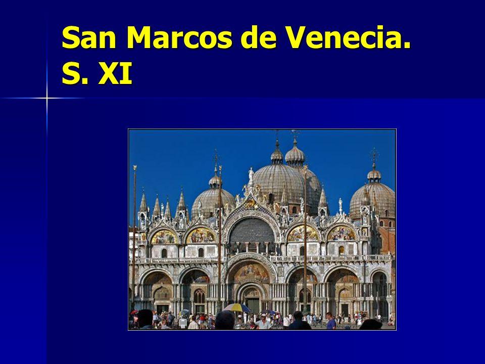 San Marcos de Venecia. S. XI