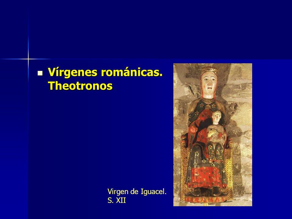 Vírgenes románicas. Theotronos