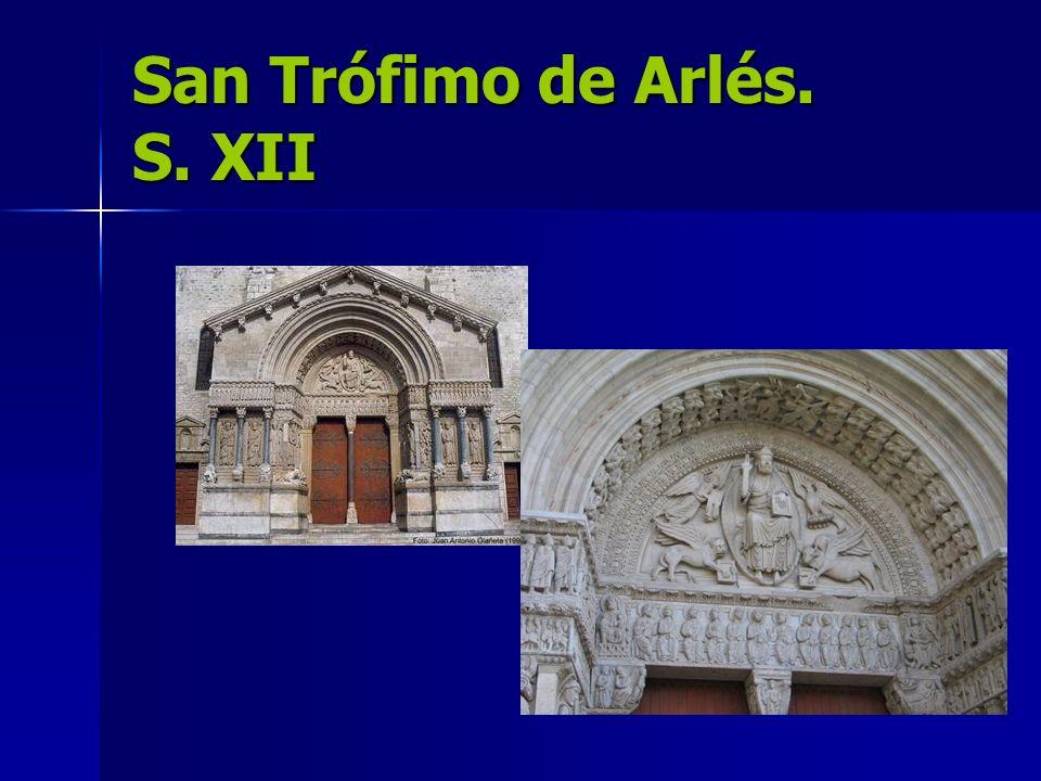 San Trófimo de Arlés. S. XII