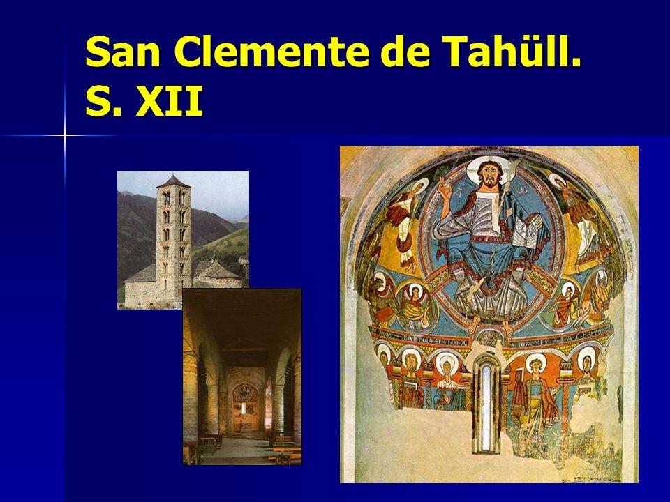 San Clemente de Tahüll. S. XII
