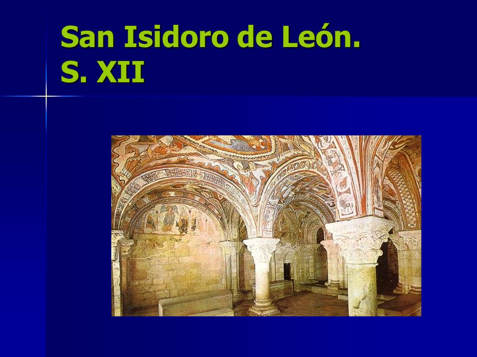 San Isidoro de León. S. XII
