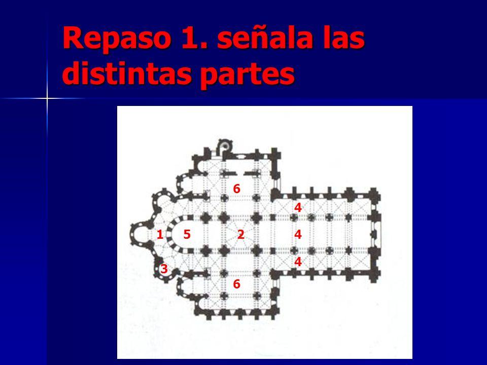 Repaso 1. señala las distintas partes