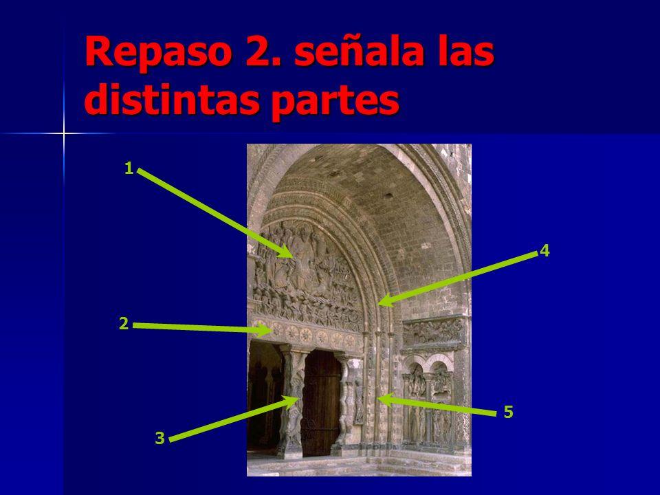 Repaso 2. señala las distintas partes