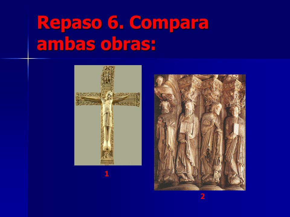 Repaso 6. Compara ambas obras:
