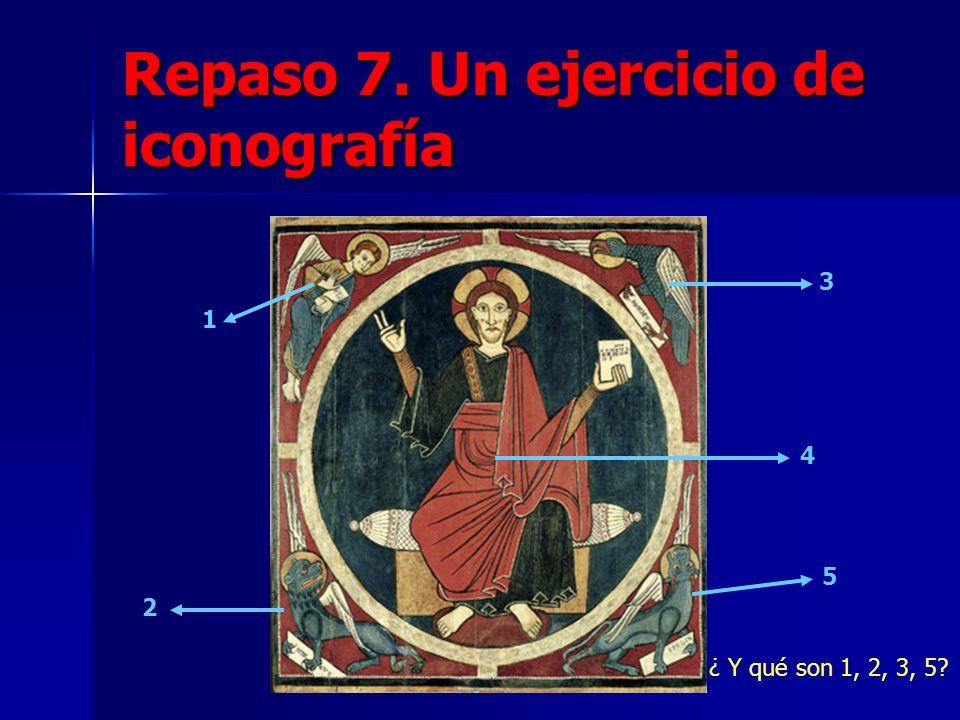 Repaso 7. Un ejercicio de iconografía