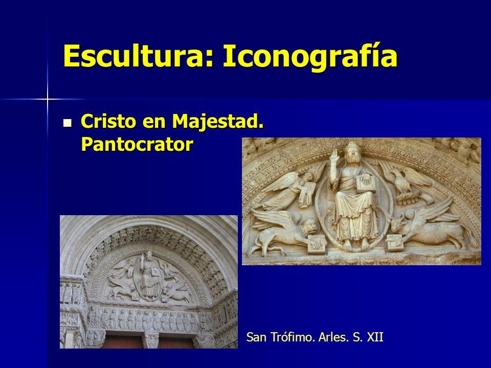 Escultura: Iconografía