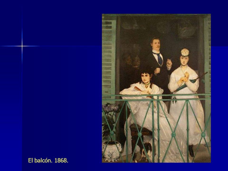 El balcón. 1868.