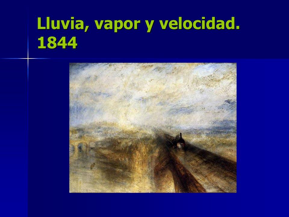 Lluvia, vapor y velocidad. 1844