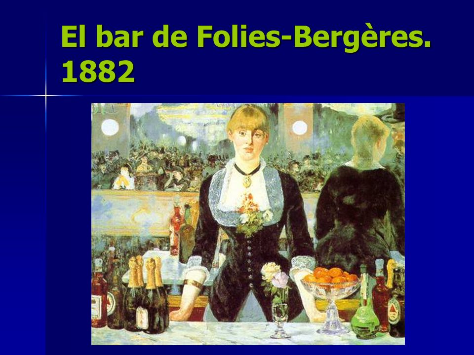 El bar de Folies-Bergères. 1882