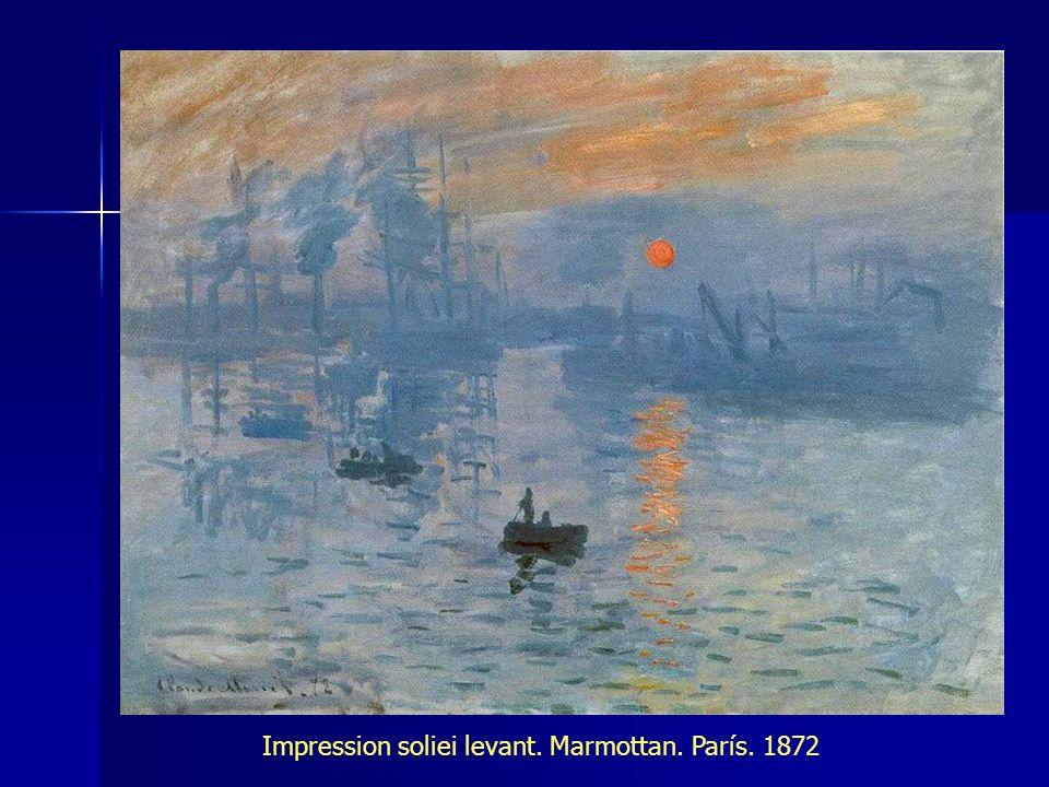 Impression soliei levant. Marmottan. París. 1872