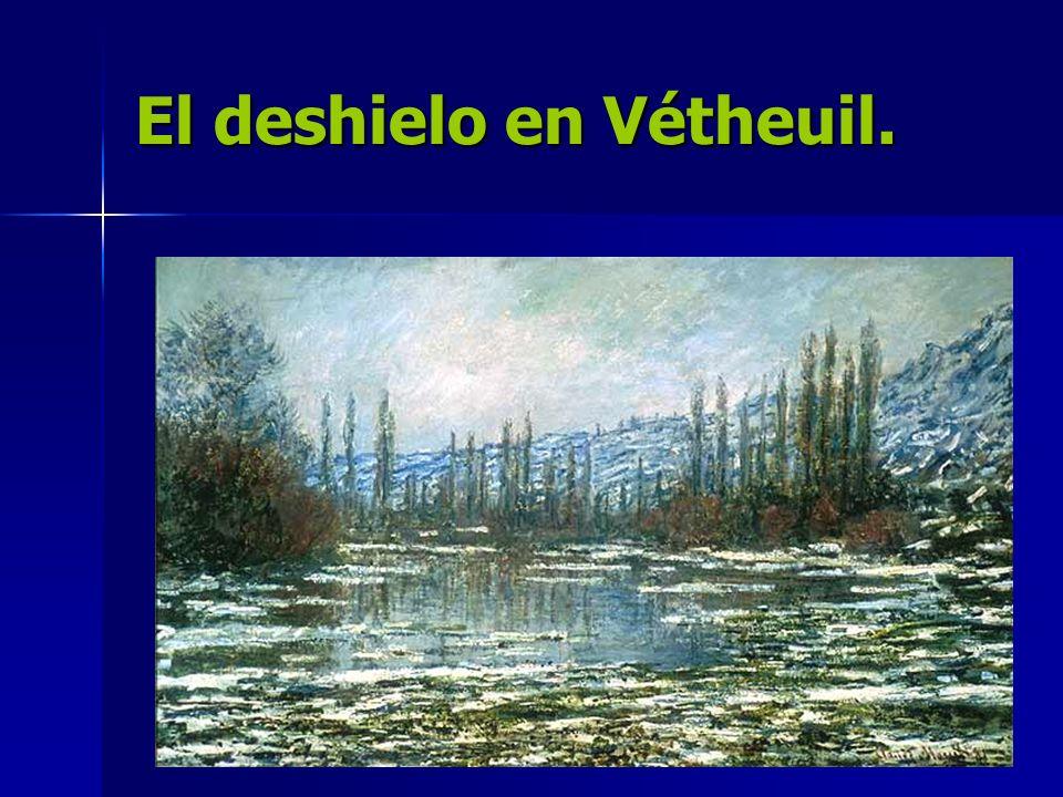 El deshielo en Vétheuil.