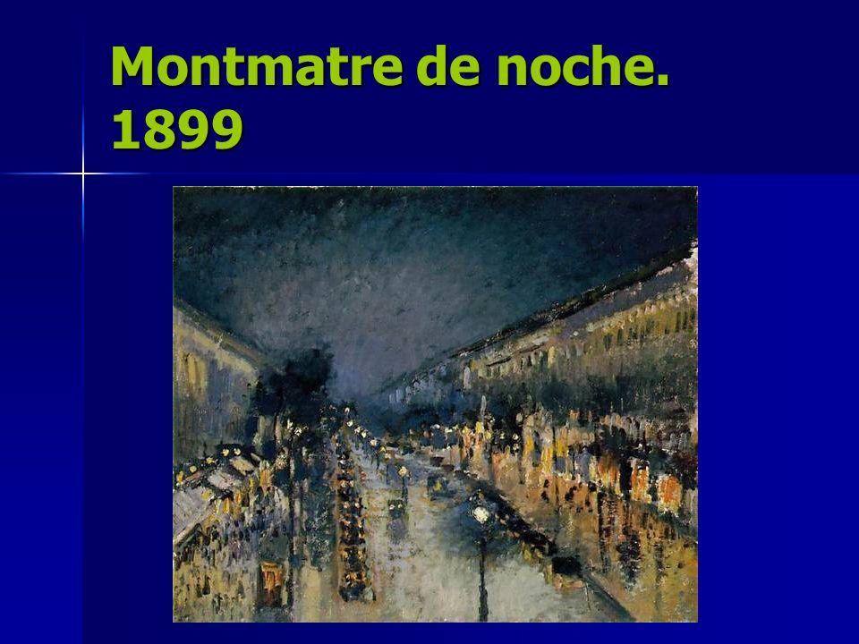 Montmatre de noche. 1899