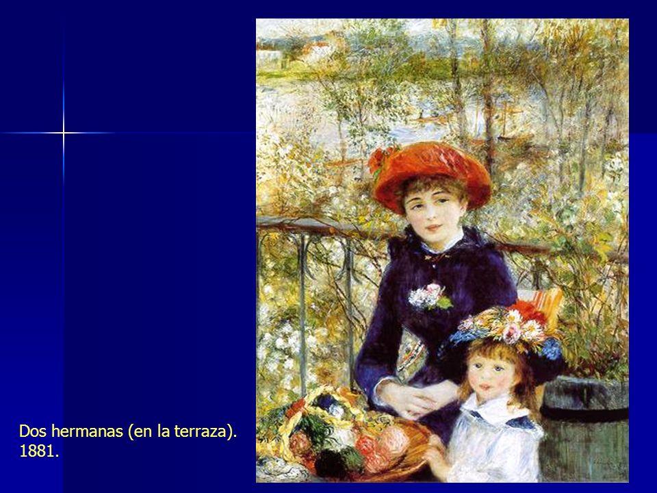 Dos hermanas (en la terraza). 1881.
