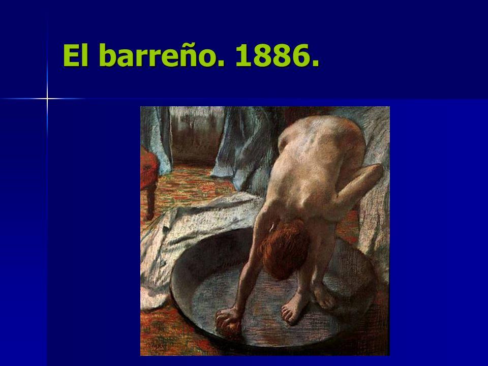El barreño. 1886.