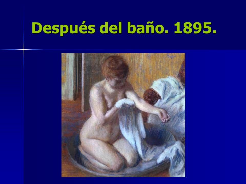 Después del baño. 1895.