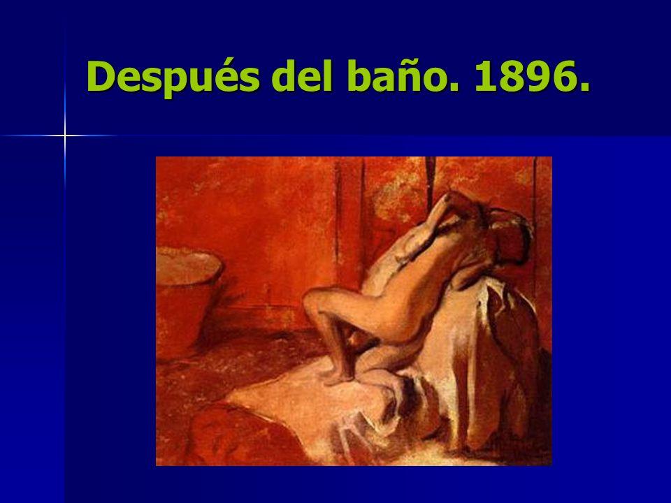 Después del baño. 1896.