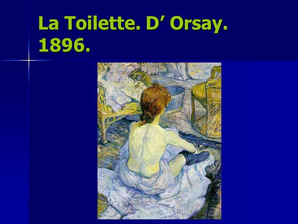 La Toilette. D' Orsay. 1896.