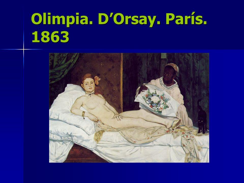 Olimpia. D'Orsay. París. 1863