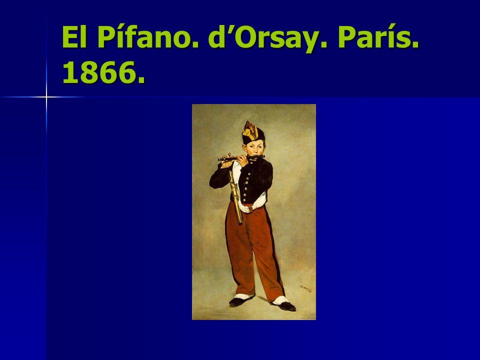 El Pífano. d'Orsay. París. 1866.