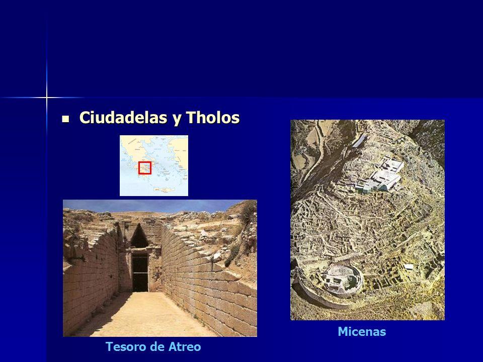 Ciudadelas y Tholos Micenas Tesoro de Atreo