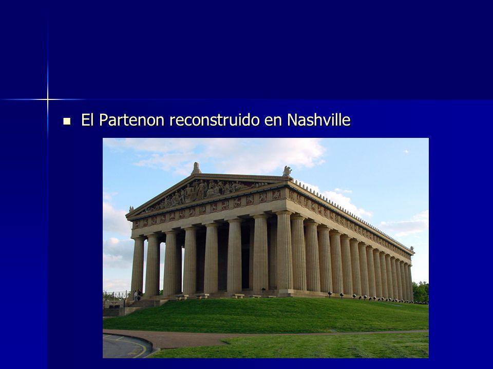 El Partenon reconstruido en Nashville