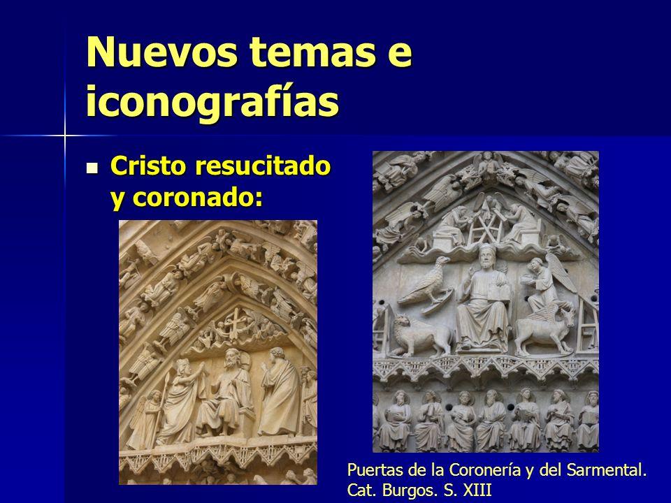 Nuevos temas e iconografías