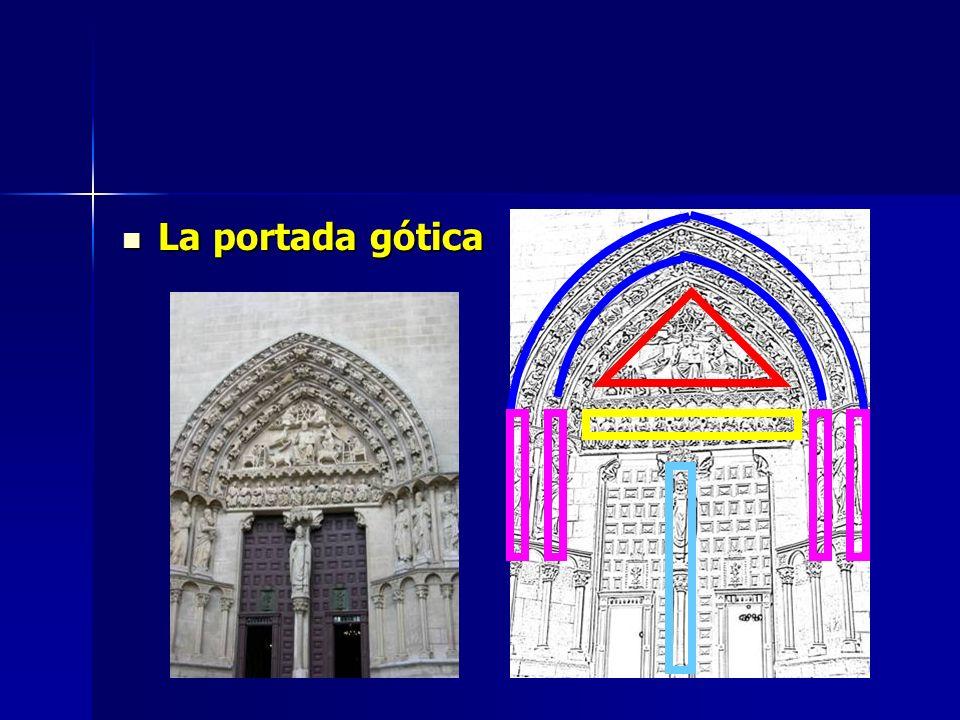 La portada gótica