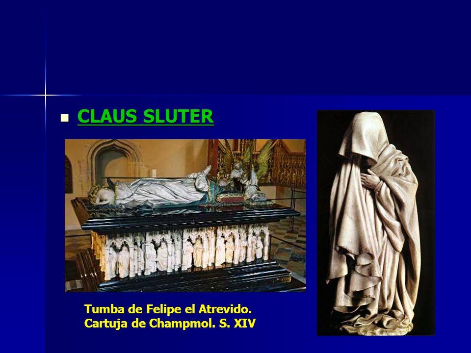 CLAUS SLUTER Tumba de Felipe el Atrevido. Cartuja de Champmol. S. XIV