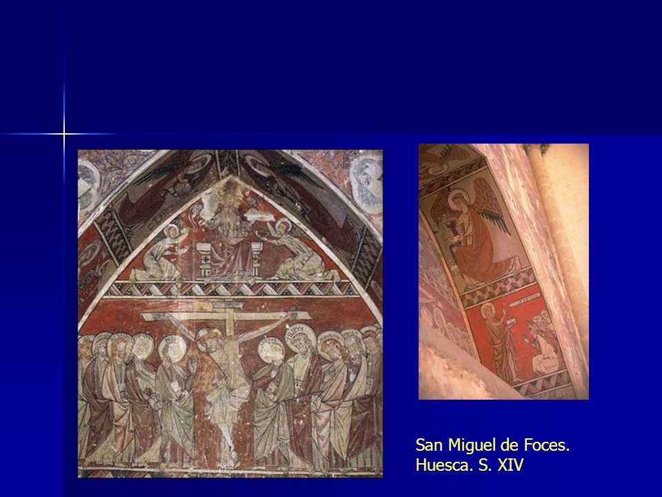 San Miguel de Foces. Huesca. S. XIV