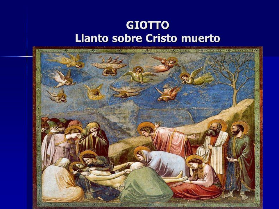 GIOTTO Llanto sobre Cristo muerto