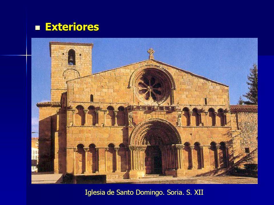 Iglesia de Santo Domingo. Soria. S. XII