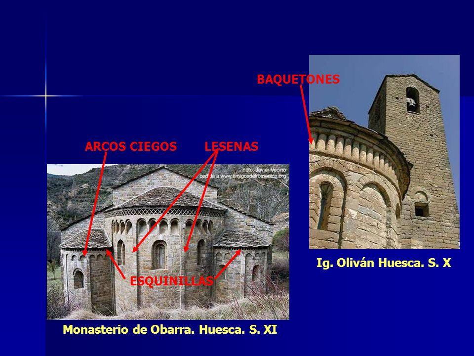 Monasterio de Obarra. Huesca. S. XI