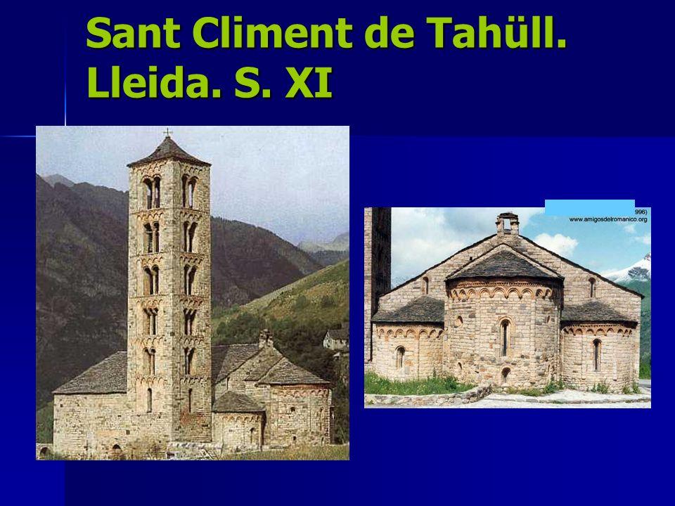 Sant Climent de Tahüll. Lleida. S. XI