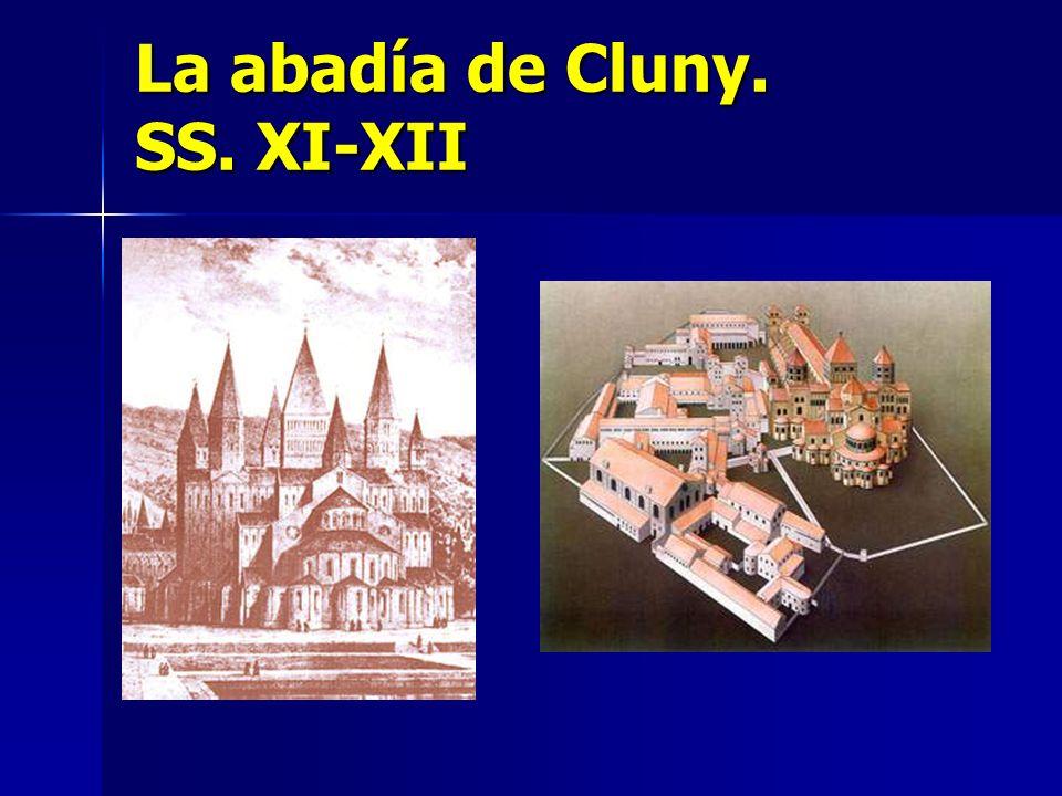 La abadía de Cluny. SS. XI-XII