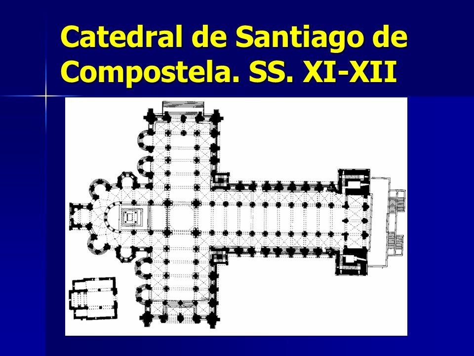 Catedral de Santiago de Compostela. SS. XI-XII