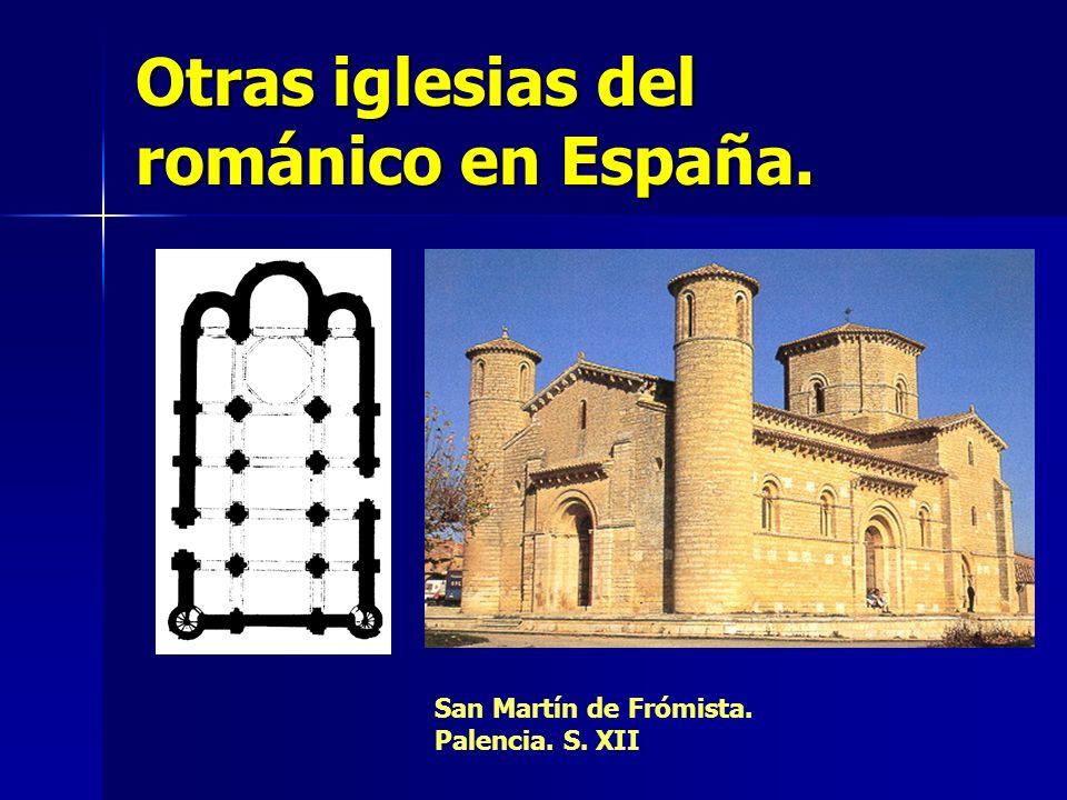 Otras iglesias del románico en España.