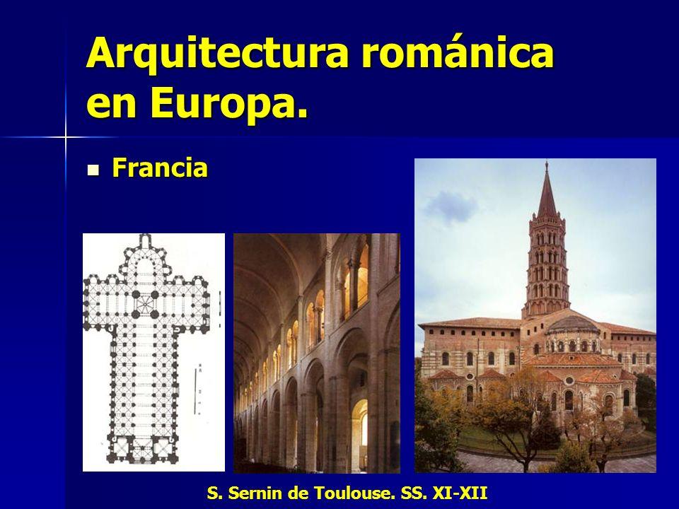 Arquitectura románica en Europa.