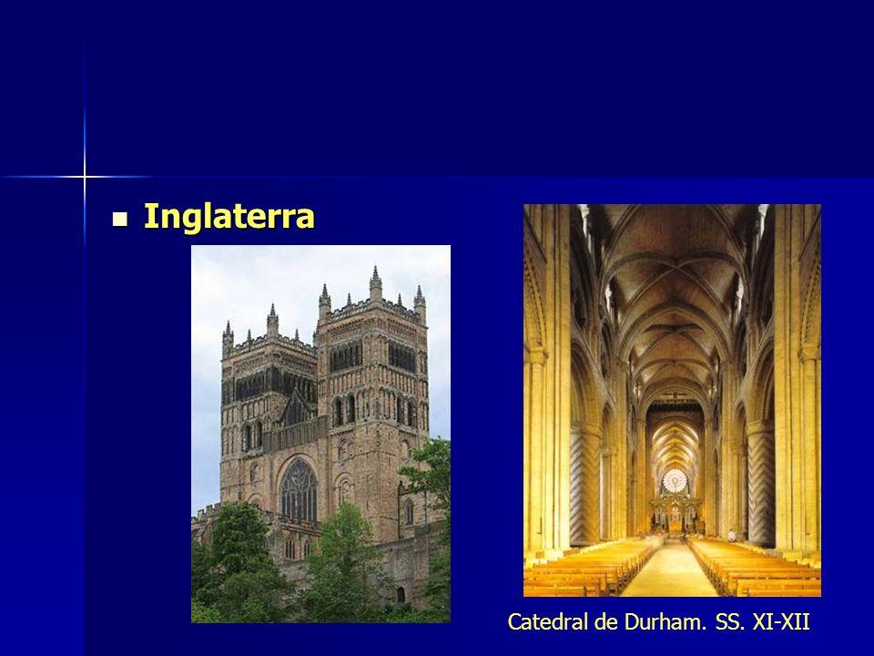 Inglaterra Catedral de Durham. SS. XI-XII