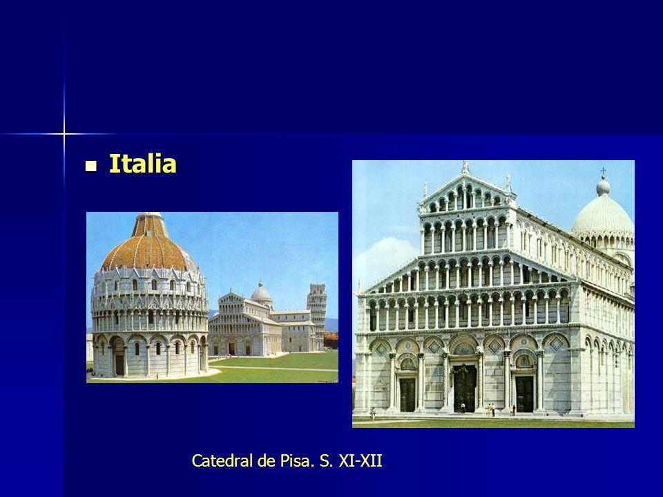 Italia Catedral de Pisa. S. XI-XII